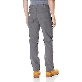 Carhartt Menăs Rugged Flex Rigby Cinci Pantaloni de buzunar, Pietriș, 38W X 32L