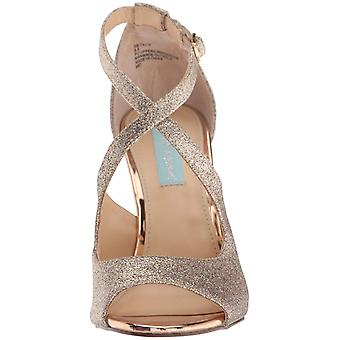 Betsey Johnson Womens sb-tacie Fabric Open Toe Casual Strappy Sandals