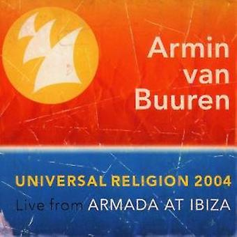 Armin Van Buuren - 2004 Religion universelle : vivre l'importation USA [CD]