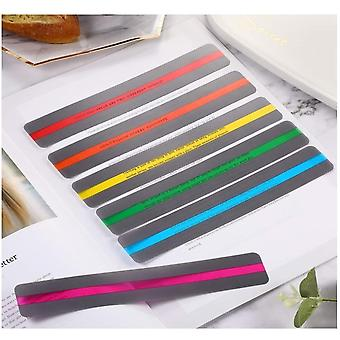 Reading Guide Strips Highlighter, Colored Overlays Bookmark Read Strips