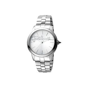 Just Cavalli JC1L006M0055 Womens SS watch with silver dial