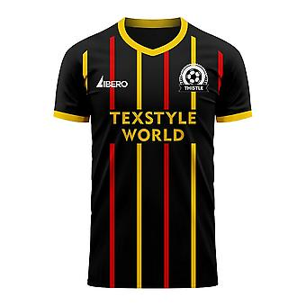 Partick 2020-2021 Away Concept Football Kit (Libero) - Adult Long Sleeve