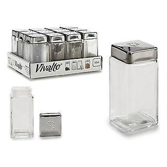 Agitador de sal con cristal de tapa (120 ml)