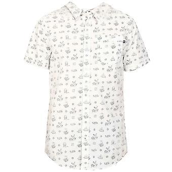 أداس الأصليون رجال المنسوجة جيك برانكا قميص أبيض باتريند S24626