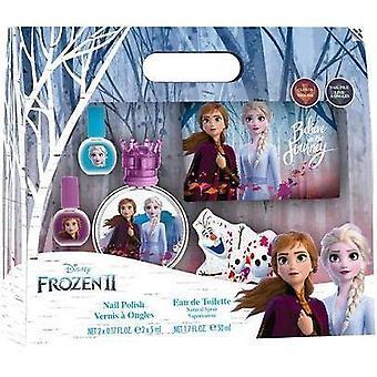 Disney Frozen II Gift Set 50ml EDT + 2x Nail Polish + Nail File + Toiletry Bag