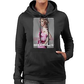 Brudtärnor Annie Movie Poster Maid of Dishonor Kvinnor & apos; s Hooded Sweatshirt