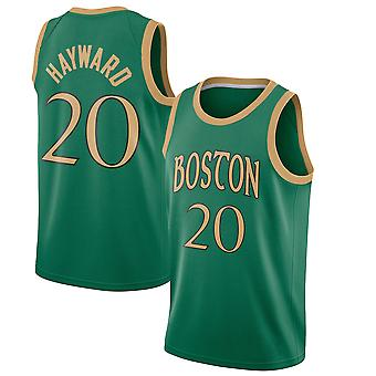 Boston Celtics No.20 Gordon Hayward Loose Basketball Jersey Sports Shirts 3QY060