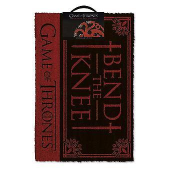 Game of Thrones Bend The Knee Door Mat