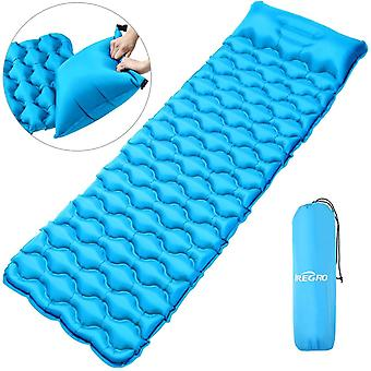IREGRO Inflatable Sleeping Mat Inflatable camping Pad Inflatable Mattress Ultralight