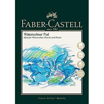 Faber-castell konst & grafisk spiralbunden akvarell, a5 300 gsm pad på 10 ark