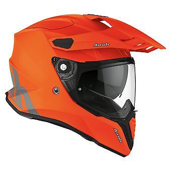 2020 Airoh Commander Adventure Helmet - Orange Fluo Matt