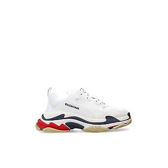 Balenciaga 533882w09om9000 Herren's Weiße Polyester Sneakers