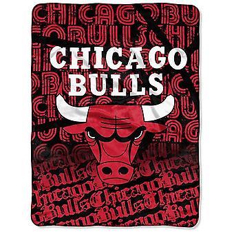 Chicago Bulls NBA Northwest Super Plush Fleece Throw