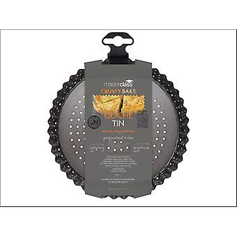 Kitchen Craft Master Class Crusty Bake Flan Tin 18 x 3cm KCMCCB34