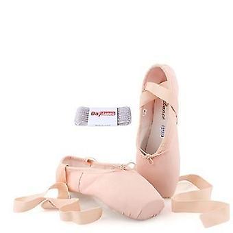 Profesionální baletní pointe boty dámské dámské saténové baletní boty
