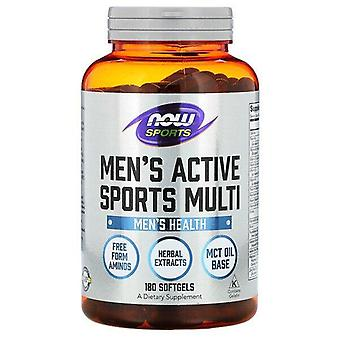 Maintenant Foods, Sports, Men's Active Sports Multi, 180 Softgels