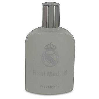 Real Madrid Eau De Toilette Spray (Tester) By Air Val International 3.4 oz Eau De Toilette Spray