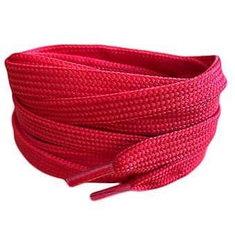 Red Flat Trainer Shoelaces Laces
