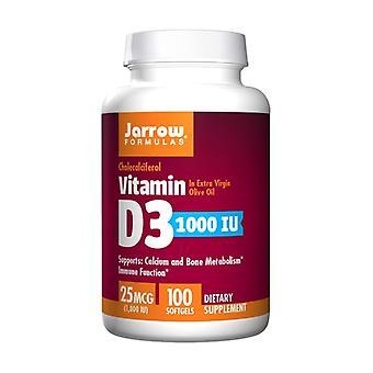 فيتامين D3 1000 وحدة دولية 100 100 softgels