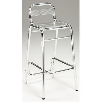 Aluminium Highstool - Indoor/Outdoor