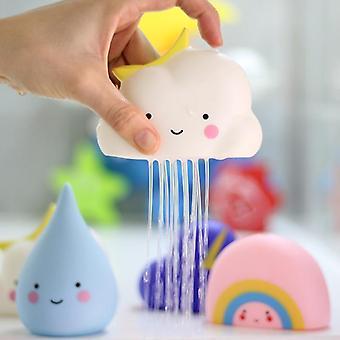 Nuttet babybad, badeværelse legevandssprøjtningsværktøj