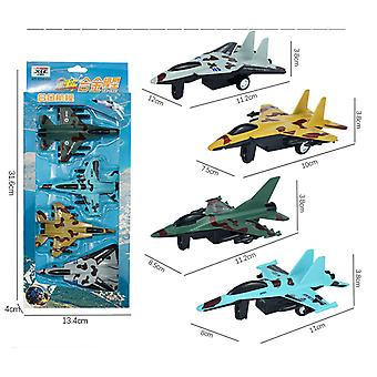 Children's simulation camouflage fighter toy