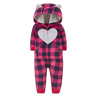 2021 Vastasyntynyt Vauva Talvi huppari, Vaatteet Jumpsuit Christmas Baby Romper