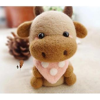 Creative Cute Bull Ox Toy Doll