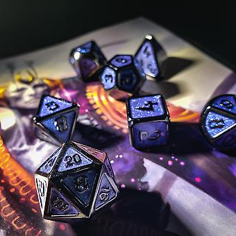 Aetheric Conjuring - 7 Piece Metal Dice Set