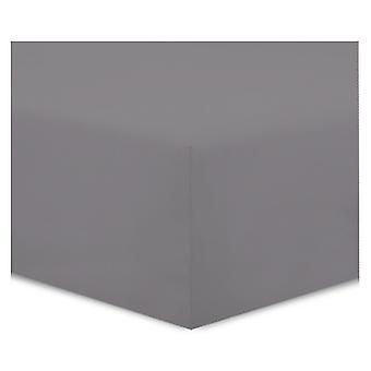Pure Inno Hoeslaken - 100% katoen - 90 x 200 cm - 3 stuks - antraciet