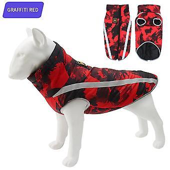Stil nou haine pentru animale de companie toamna si iarna rezistent la vant cald câine haina câine mare câine fund îmbrăcăminte pentru animale de companie