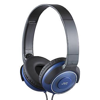 JVC HA-S220AE On-Ear Kopfhörer Deep Bass - Blau