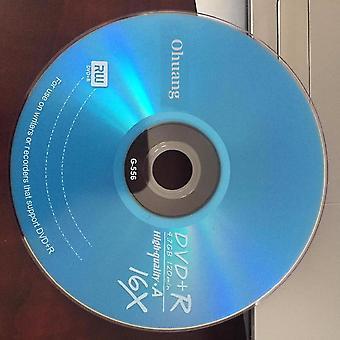 A fokozatú 4,7 Gb 16x kék üres nyomtatott dvd+r lemez