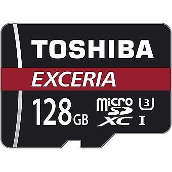 Wokex EXCERIA M302-EA Micro SDXC 128GB bis zu 90MB/s, UHS-I Klasse 10 Speicherkarte (inkl. microSD