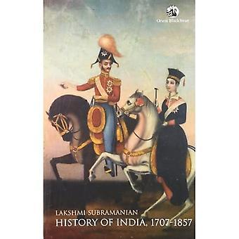 História da Índia 1707-1857