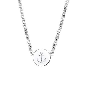 Elli - Kvindekæde med maritimt ankervedhæng, Sølv 925 - 0103611015, sølv, farve: sølv, torsk. 0103611015_45
