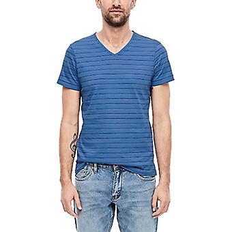 s.Oliver 13.001.32.4619 T-skjorte, Blå (Royal Blue 55g0), Liten mann