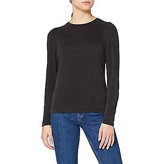 Herrlicher Cameo Jersey Stretch Micromodal T-Shirt, Black 11, L Woman