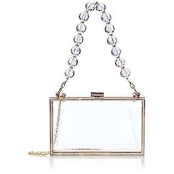 SwankySwans Lola, Women's Clutch, Transparent, One Size