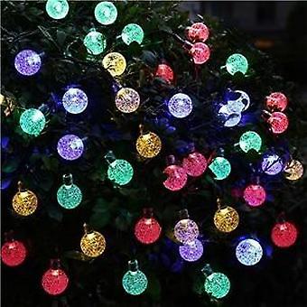 50 Leds 10м солнечная лампа Хрустальный шар Led String Lights