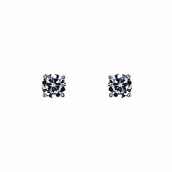 Sirius - Solitaire Stud - Icons Earrings - White - Jewellery Gifts for Women from Lu Bella