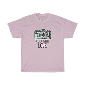 Click with Love - Heavy Cotton T-shirt
