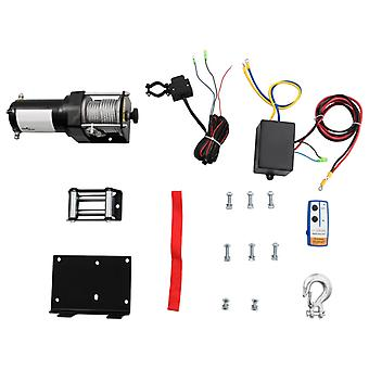 Electric Winch Wireless Wired  Recovery 12V 3018lb/1360 kg capacity