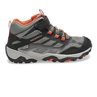 Merrell MOAB FST Mid A/C Waterproof Junior Walking Boots - SS21