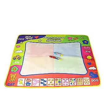 Color magic doodle drawing mat 24x12 inches water coloring writing painting mat for kids baby toddler x5269