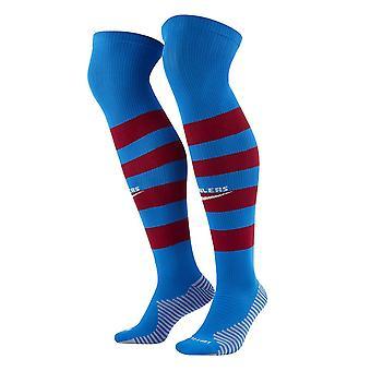 2021-2022 Barcelona Home Socks (Azul)