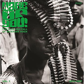Divers - Réveillez-vous! The Rise And Fall of Nigerian Rock 1972-1977 Vol. 1 CD