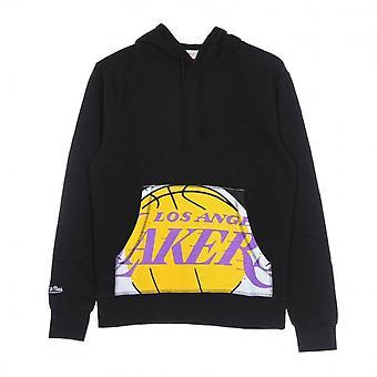Mitchell & Ness Nba Beskåret Logo Los Angeles Lakers BMPHINTL909LALBLCK basketball hele året menn sweatshirts