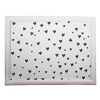 Lap cushion Hearts