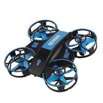 360 Degrees Quadcopter Mini Remote Control Drone(Blue)